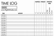 Time Log Excel Search Results For 15 Minute Increment Daily Schedule