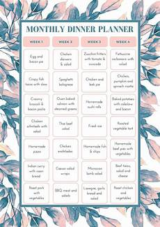 Meal Planning Template Free Free Monthly Meal Planning Template Bake Play Smile