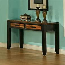 steve silver company abaco sofa table in espresso ab600s