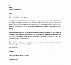 Appreciation Letter To Employees Appreciation Letters To Employees Scrumps