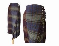 ralph plaid vintage fringed blanket skirt size 16