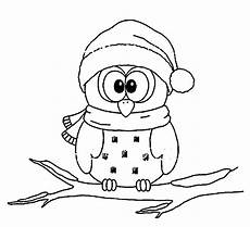 Ausmalbilder Eule Weihnachten Owl Coloring Pages Printable K5 Worksheets Owl