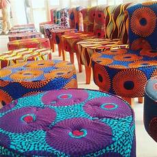 Ankara Craft Designs Ankara Chairs And Stools African Home Decor African
