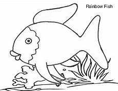 Rainbow Fish Template Rainbow Fish Template By Teacher Nanay Teachers Pay Teachers