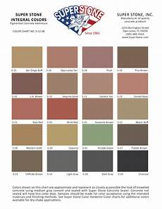 Cathedral Stone Color Chart Color Charts Super Stone Inc
