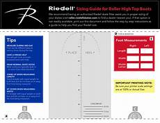Roller Skate Size Chart Sizing Help Riedell Roller Skates