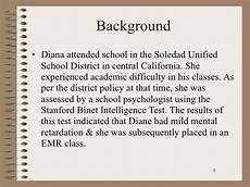 Diana Vs Board Of Education Diana V State Board Of Education 1970