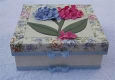 caixa patchwork embutido flores 3d no elo7 boutique