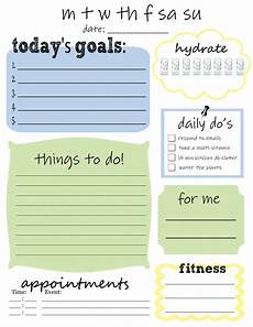Daily To Do Checklist Free Printable Daily To Do List That S What Che Said