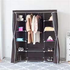 clothes for portable costway portable clothes closet non woven fabric wardrobe
