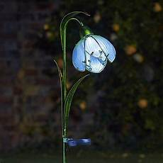 Solar Powered Stake Lights Solar Snowdrop Garden Stake Lights