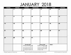 Templates By Vertex42 Com Download A Free Printable Monthly 2018 Calendar From