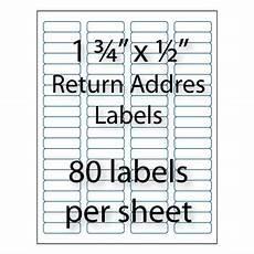 Avery 8167 Blank Template Bulk Return Address Labels Avery 174 Compatible Stik2it Com