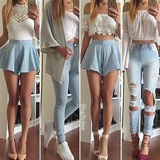 Light Ripped Jean Outfits Pin By Jimmy Rustler On Pretty Girly Outfits Pinterest