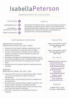 Templates For Professional Resumes Professional Resume Templates Free Download Resume Genius