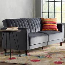 Hammondale Pin Tufted Convertible Sofa 3d Image by Willa Arlo Interiors Hammondale Pin Tufted Convertible