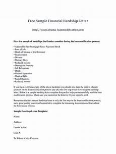 Sample Of Hardship Letter For Loan Modification Hardship Letter Fill Online Printable Fillable Blank