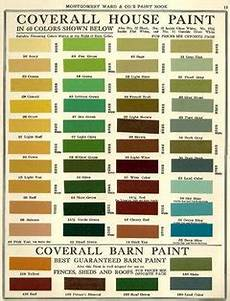 Exterior Color Chart Exterior Colors On 1920 S Bungalow