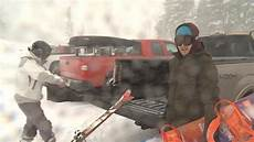 Kptv Friday Night Lights Snowboarders Skiers Take Advantage Of Fresh Snow On Mt