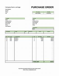 Purchase Order Format In Excel 37 Free Purchase Order Templates In Word Amp Excel