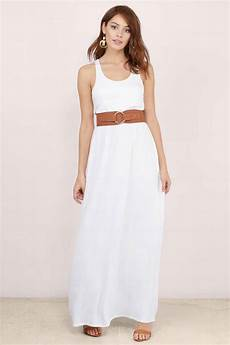 cheap white maxi dress racerback dress white dress