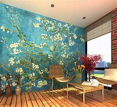 home decor wall murals gogh almond blossom wall mural wallpaper