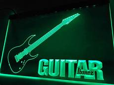 Neon Light Guitar Lf087 Guitar Ibanez Music Led Neon Light Sign Home Decor