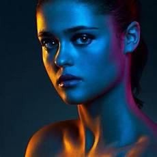 Jones Lighting Jobs Vibrant Colored Gel Portrait Photography Examples Colour