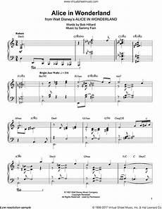 Alice In Wonderland Jazz Chart Free Jazz Piano Sheet Music Transcriptions Pdf Bcma
