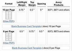 business card template in word how to make free business cards in microsoft word with