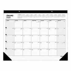 Calendar 2020 Office Office Depot Monthly Desk Pad 22x17 2020 Office Depot