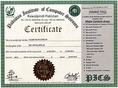 Fake Course Certificate Sample Certificate Regular
