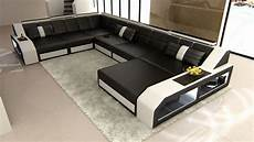 Couch Led Lights Sectional Leather Sofa Matera With Led Lights Colour