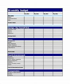Free Budget Maker 19 Simple Budget Planner Templates Word Pdf Excel
