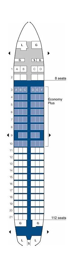 United Airlines Boeing 737 Seating Chart United Airlines Aircraft Seatmaps Airline Seating Maps