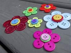 craft klatch 174 button flowers craft tutorial