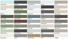 Exterior Color Chart Exterior House Paint Color Chart House Paint Color