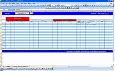 Tv Template Tv Schedule Excel Templates