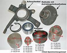 Radlager Presse Werkzeugkoffereinlage saab 900 radlager