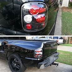 Silverado Lights On Sierra 99 04 Chevy Gmc Sierra Silverado Stepside Black