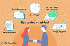 How To Get A New Job 15 Quick Tips That Will Help You Get Hired Fast