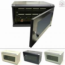 6u wall cabinet network data rack for patch panel pdu