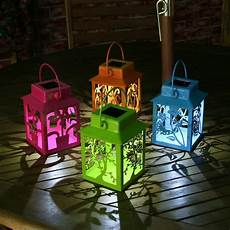 Coloured Outdoor Lantern Lights Mesmerizing Outdoor Solar Lights That Will Amaze You