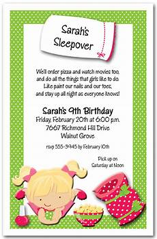 How To Make A Sleepover Invitation Sleepover Party Invitations Kids Sleepover Birthday