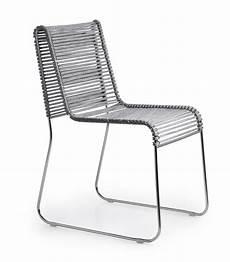 sedie intrecciate sedia in metallo seduta in corda intrecciata per interni