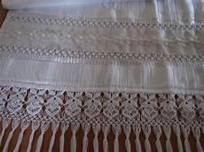 macrame toalha toalha de rosto macrame no elo7 atelie eliete lima