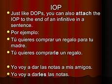 Iop Spanish Spanish Dop And Iop