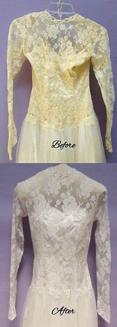 restore an old wedding gown for a truly vintage wedding