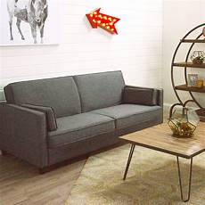 charcoal gray nolee folding sofa bed world market
