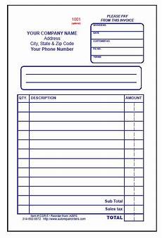 Free Auto Repair Receipts Make Free Printable Receipt Also Available In 3 Part